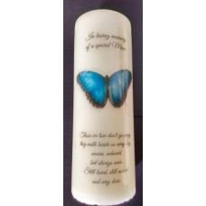 Butterfly memory candle