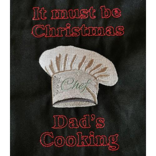 Chef's hat Christmas Apron
