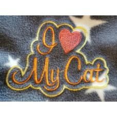 I love my cat blanket