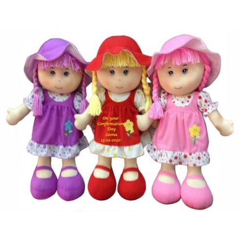 Rosie Rag Doll Confirmation