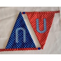 Spotted bunting U