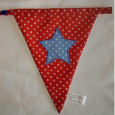 Spotted bunting star