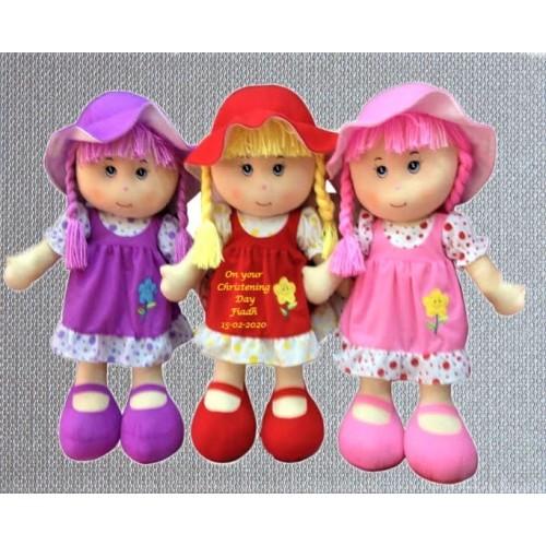 Rosie Rag Doll Christening
