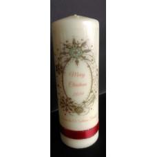 Christmas Wreath Candle