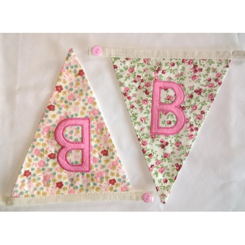 Floral bunting B