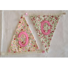 Floral bunting C