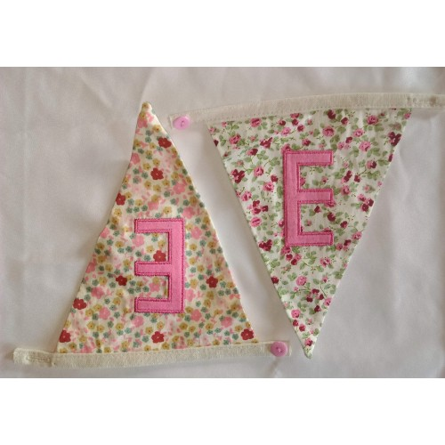 Floral bunting E