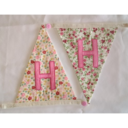 Floral bunting H