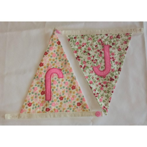 Floral bunting J