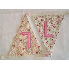 Floral bunting L
