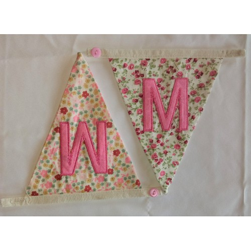 Floral bunting M