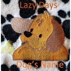 Lazy Days Dog blanket