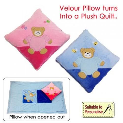 Luxury Quillow