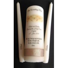 Claddagh Candle Unity Set